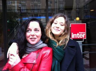 Laure Calamy et Constance Rousseau