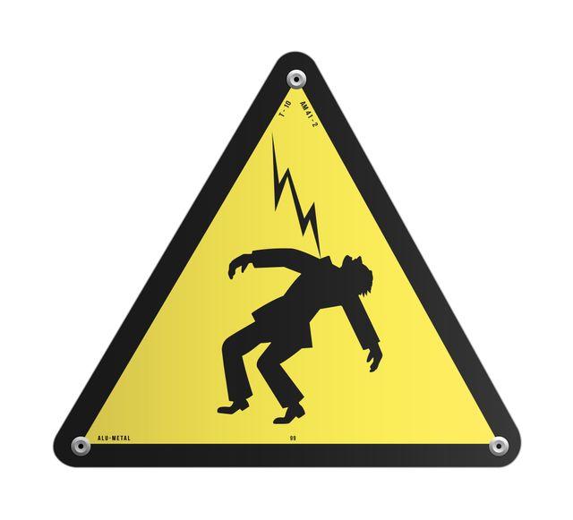 Logo electrocution