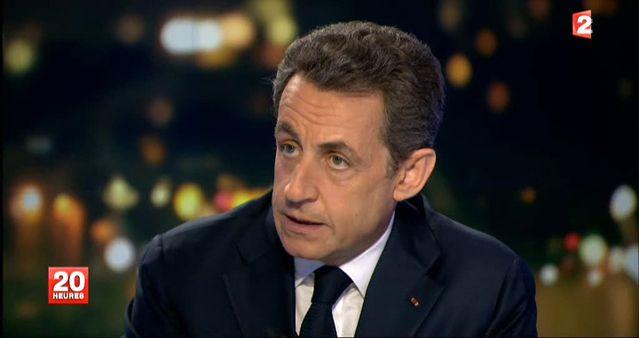 Sarkozy 20h France 2
