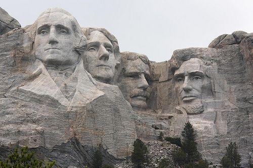 Présidents américains sur le mont Rushmore