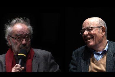 Jean-Luc Godard et Marcel Ophüls