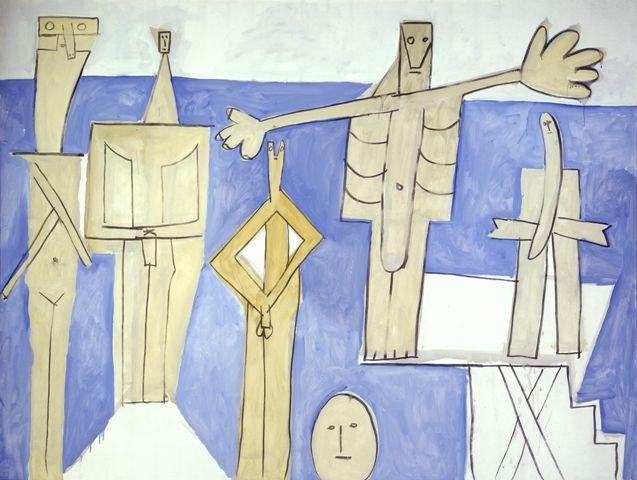 Picasso, Les Baigneurs à la Garoupe