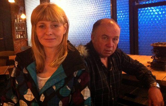 Dominique Alderweireld et Béatrice Legrain