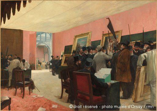 Henri Gervex - Une scéance du jury de peinture