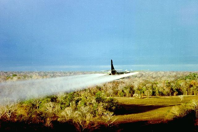 UC-123B during Operation Pink Rose 1967