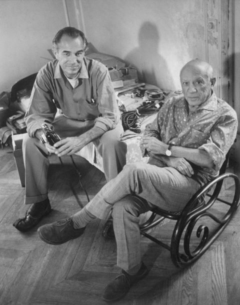 Picasso avec DD Duncan