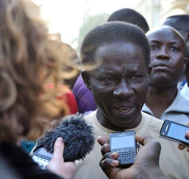 Ibrahima Fall, l'un des candidats à la présidentielle