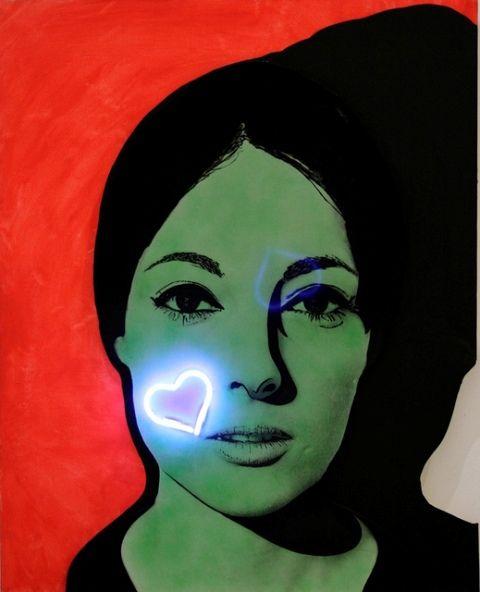 Martial Raysse, Nissa bella, 1964