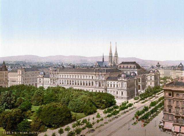 L'université de Vienne vers 1900