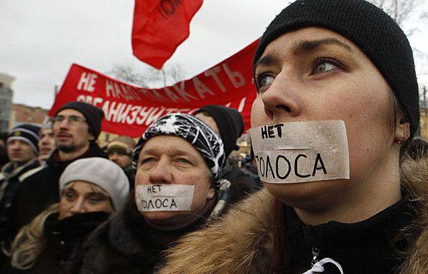 Manifestation Saint-Petersbourg