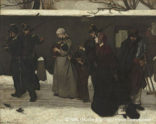 Ce qu'on appelle le vagabondage de Alfred Stevens (1855)