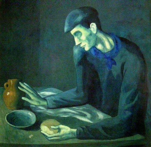 Le repas de l'aveugle par Pablo Picasso - 1903