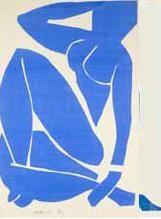 Matisse, Nu bleu III - 1952