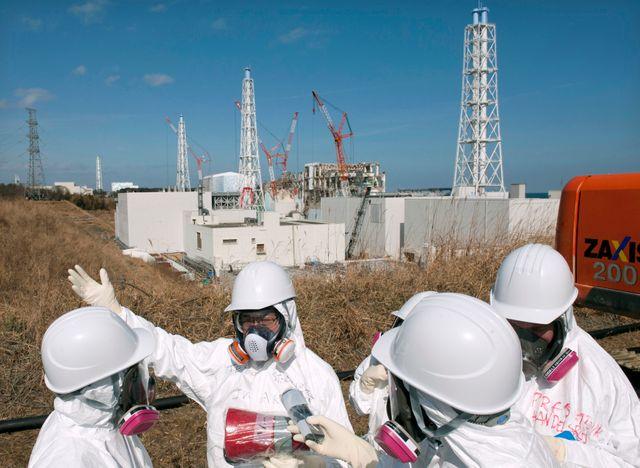Fukushima, employés de TEPCO
