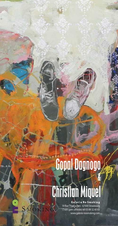 exposition Gopal Dagnogo et  Christian Miquel