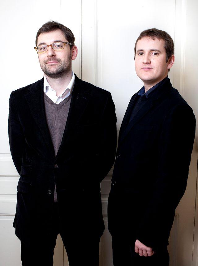 Boris Cassel et Olivier Baccuzat