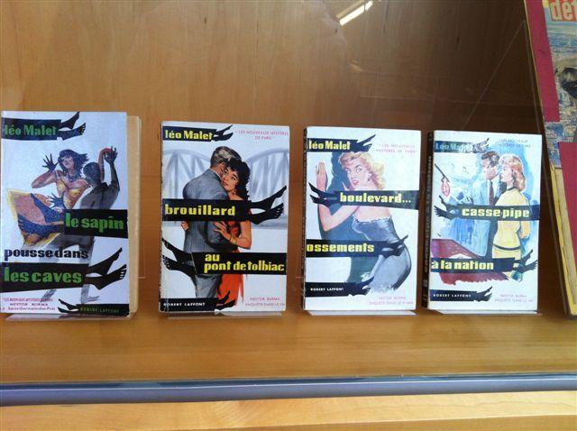 Fonds Leo Malet : livres
