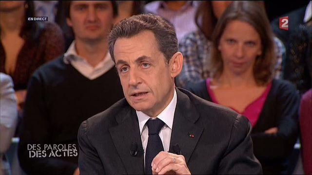 Nicolas Sarkozy sur France 2