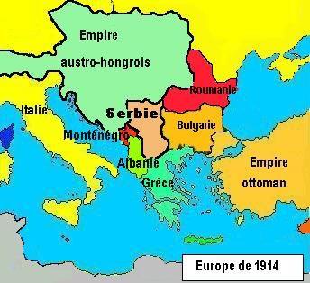 Les Balkans, il y a tout juste un siècle
