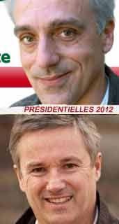 Philippe Poutou & Nicolas Dupont-Aignan