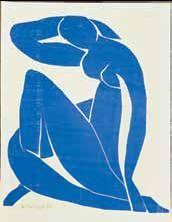 Matisse Nu bleu II 1952