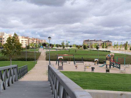 Valdeluz - Vue du parc