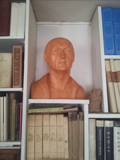 Buste de Jean Vilar