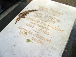 Tombe de Jacques Faizant