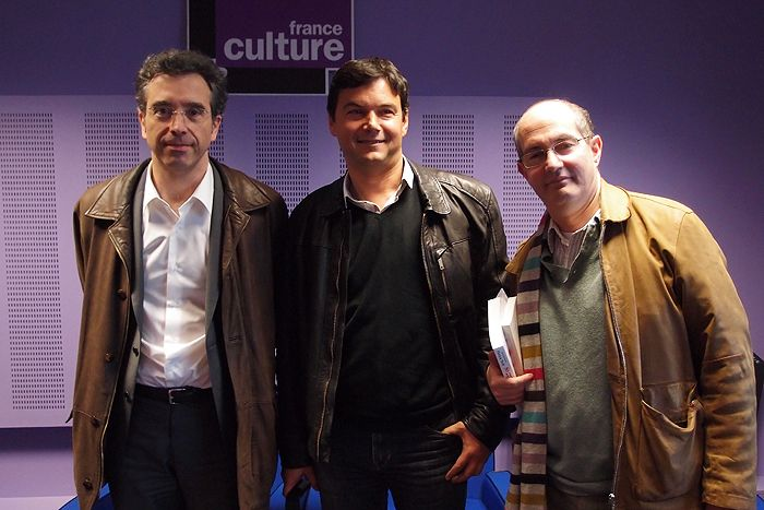 Dominique Reynié, Thomas Piketty et Patrick Weil