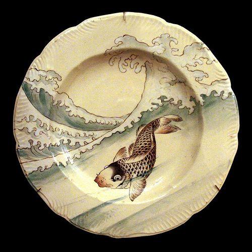 Assiette Musée d'Orsay (poisson)