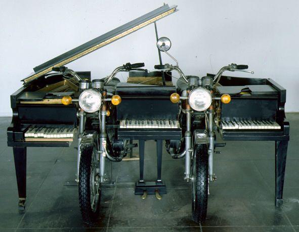 Arman, Spirit of Yamaha, 1997