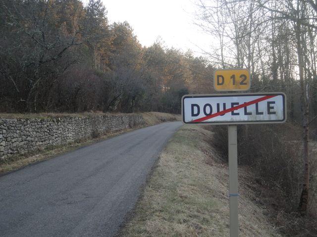 Panneau - Sortie de Douelle