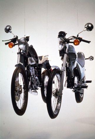 Arman, fragmentation de moto