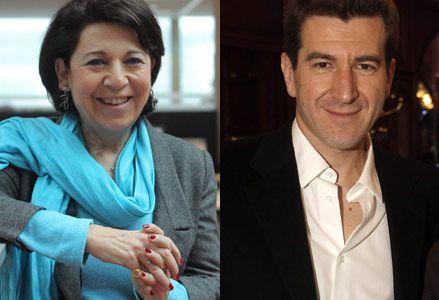 Corinne Lepage et Mathieu Pigasse