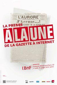 Affiche de l'exposition à la BNF