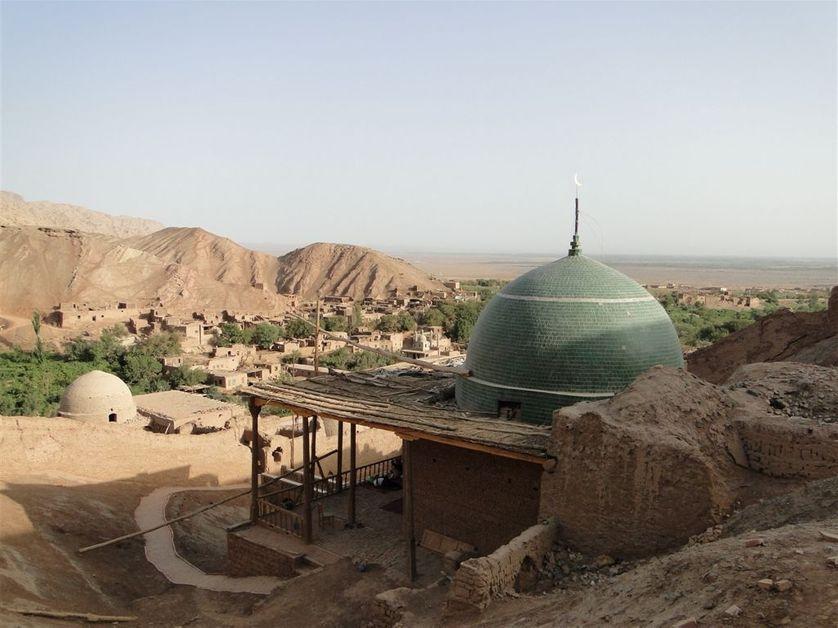 Sanctuaire soufi des Sept Dormants à Turfan (Chine)