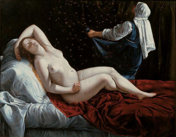 Artemisia Gentileschi : Danae