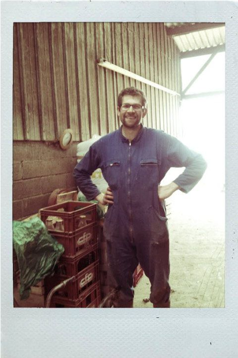 Pascal Roinson, agriculteur bio
