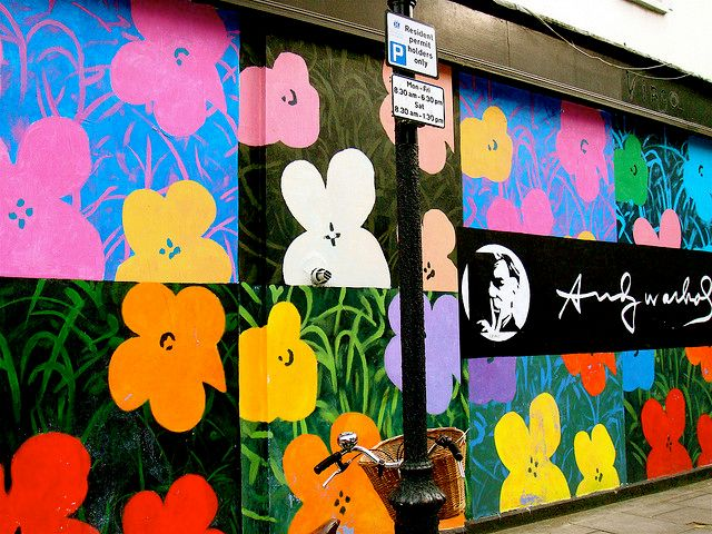 Warhol arman flowers