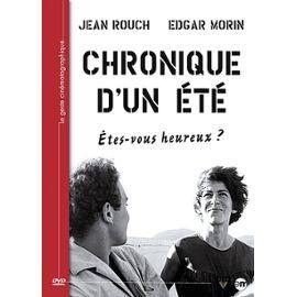 Chronique d'un Ete Jean Rouch Edgar Morin