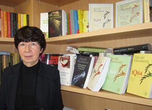 Françoise Triffault, éditrice de Murakami chez Belfond