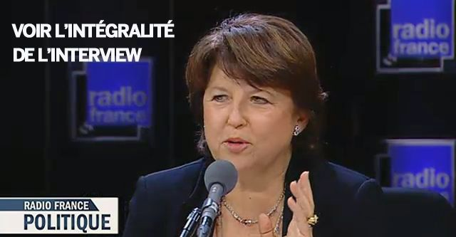 Martine Aubry avec L