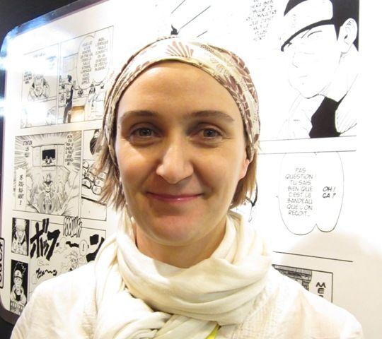 Emmanuelle Philipon des Editions Kana