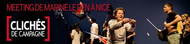 Lien image CDC Marine Le Pen à Nice