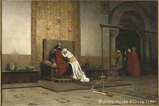 L'excommunication de Robert le Pieux de Jean-Paul Laurens (1875)