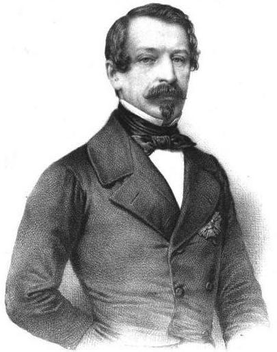Le président Louis-Napoléon Bonaparte en 1852
