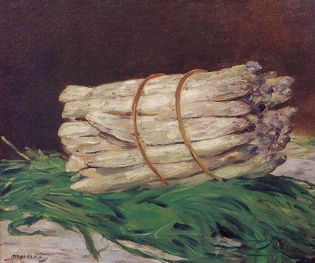 Botte d'asperges - Manet