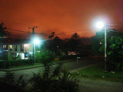 ciel rouge de Tabubil
