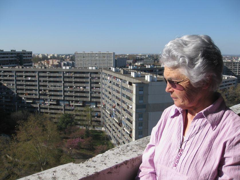 Geneviève, religieuse à la retraite, qui a choisi de venir habiter au Mirail