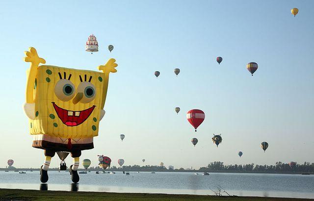 Leon hot air balloon festival 2010